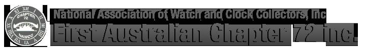 NAWCC First Australian Chapter 72 inc – Sydney Clock Club Logo